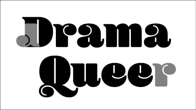 Drama Queer t-shirt design process: creating the swirl