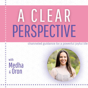 A Clear Perspective podcast image with Medha Murtagh